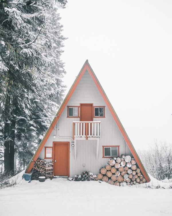 35 Most Beautiful A-Frame Cabins You Can Dreaming   Home Design And ...