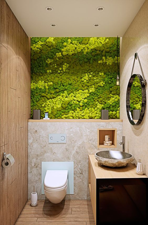 20 Fresh And Natural Moss Wall Art Decorations