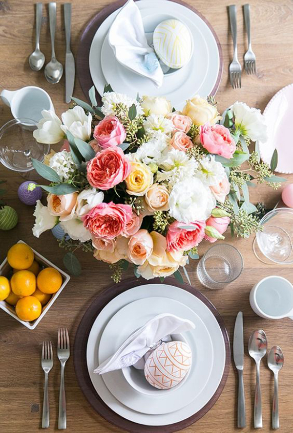28 Best Easter Centerpieces Decor For Serving The Table
