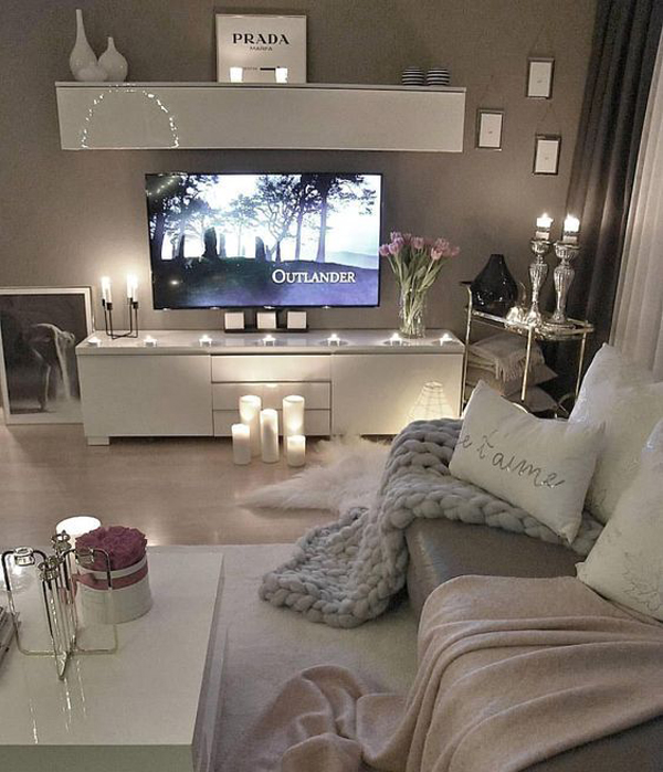7 Apartment Decorating And Small Living Room Ideas: 15 Inspiring Romantic Room Decor For Surprise Your Lover's