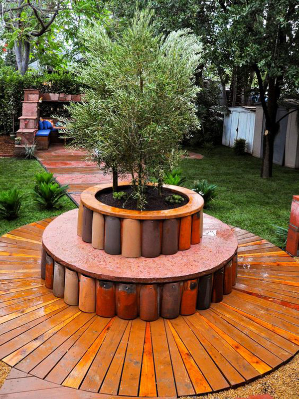 20 Genius And Creative Ways To Recycled Roof Tiles Homemydesign