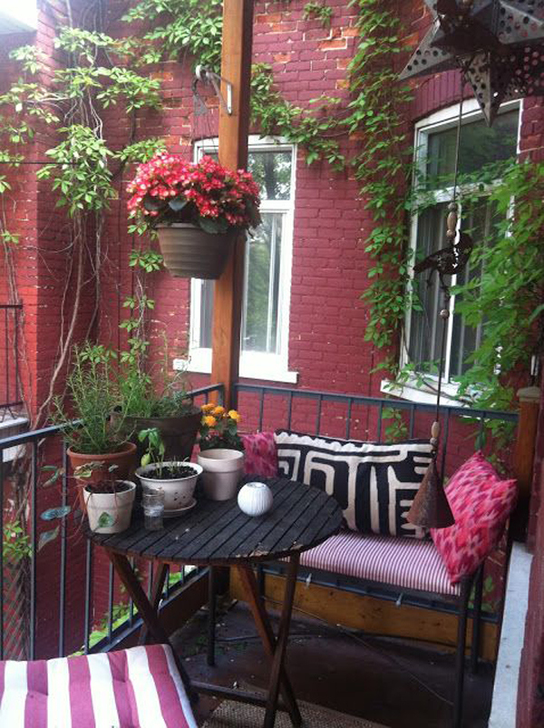 Small Apartment Balcony Garden Ideas: 35 Awesome Tiny Balcony Decor Ideas