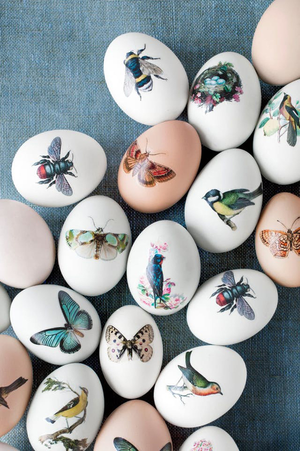Modern Drawing Room: 25 Cute And Modern Easter Eggs To Surprise Your Kids