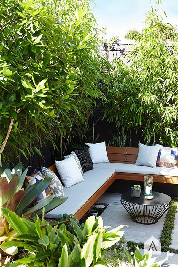 20 Urban Backyard Oasis With Tropical Decor Ideas ... on Tropical Patio Ideas id=60144
