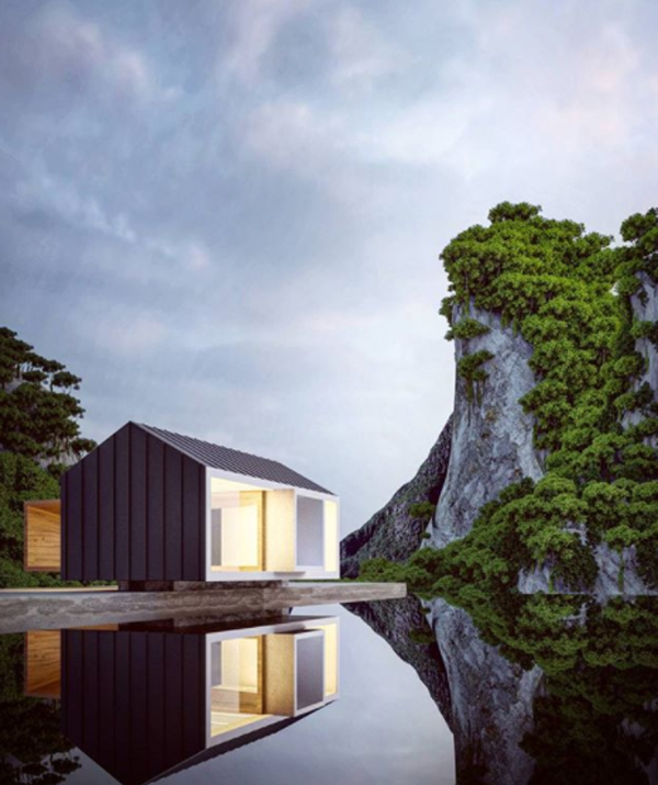 7 Amazing Houses Built Into Nature: Best Alexander Nerovnya Architecture With Surrounded By
