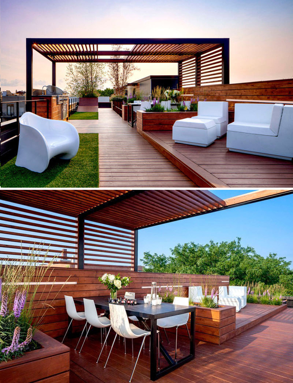 25 Modern Rooftop Design For Your Outdoor Sanctuary Home