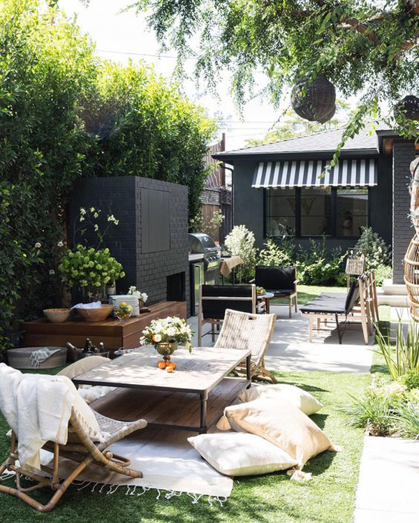 20 Cozy Outdoor Patio Ideas For Warmer Months | Home Design And Interior