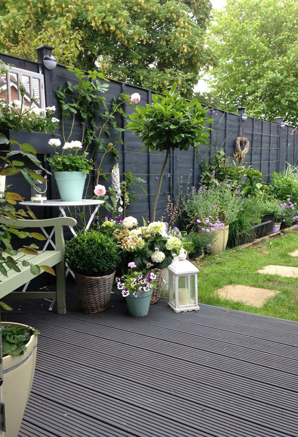 20 Inspiring Spring Backyard To Soothing Your Mind ... on Black And White Patio Ideas id=17750