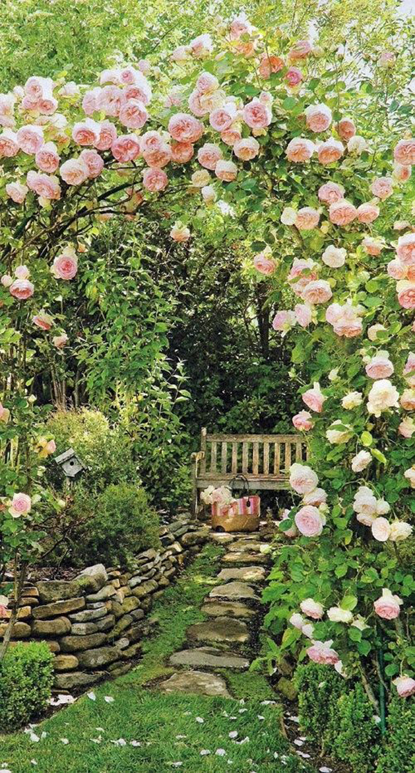 Miraculous Stone Secret Garden With Vintage Bench Andrewgaddart Wooden Chair Designs For Living Room Andrewgaddartcom