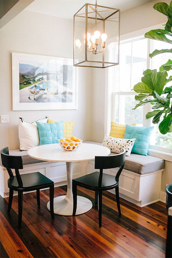 awesome breakfast nook furniture decorating ideas | stylish-farmhouse-breakfast-nook-ideas