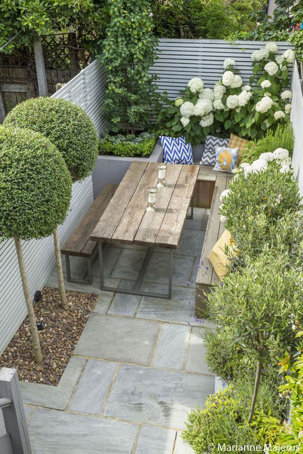 20 Small And Gorgeous Backyard Ideas In The City ... on Small City Patio Ideas id=82611
