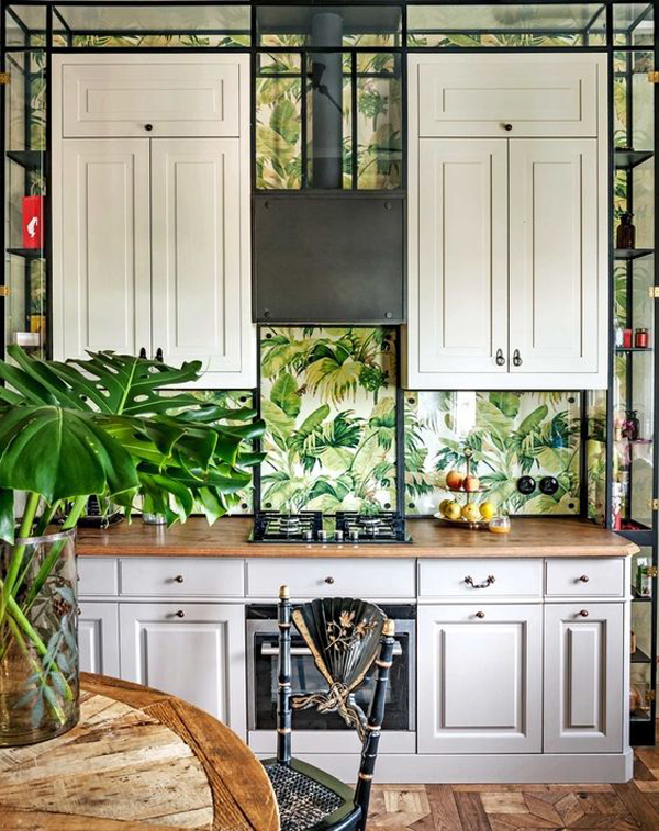 Wallpaper For Kitchen Backsplash on wallpaper kitchen backsplash ideas, wallpaper design for kitchen, wallpaper colors for kitchen, wallpaper accent wall for kitchen,