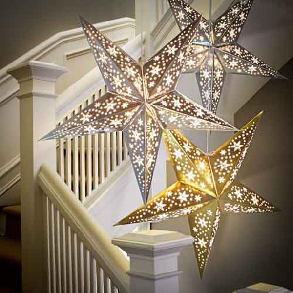 10 Amazing Ramadan Stairs Decor With DIY Lights