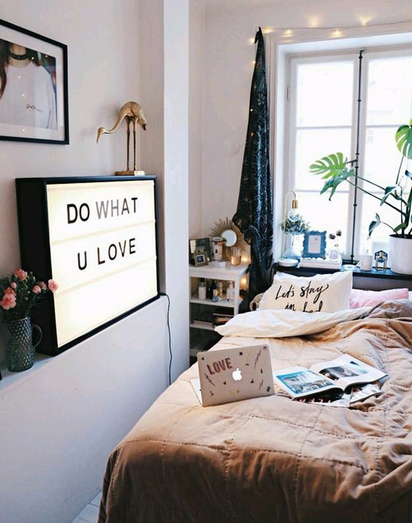 Dorm Room Layouts: 20 Pretty Dorm Room Ideas For Popular Girls