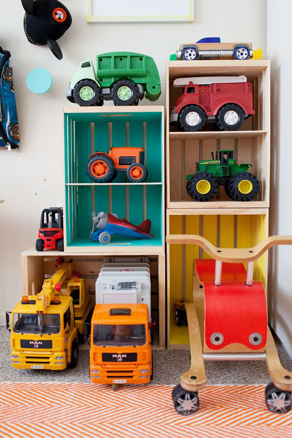 Diy Wooden Toy Cars Storage Ideas Home Design And Interior
