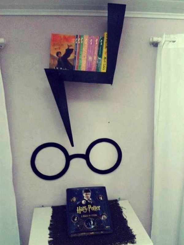 Diy Harry Potter Bookcase Design