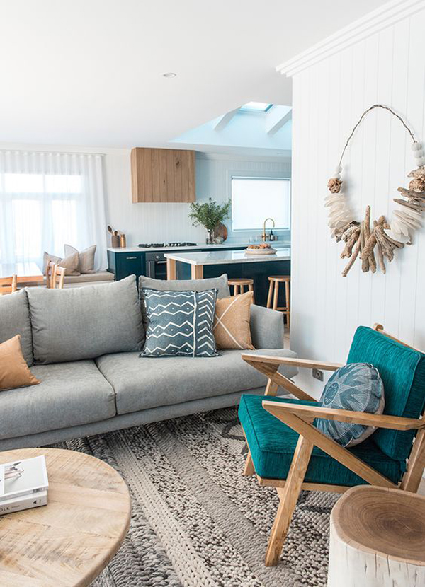 Home Interior Design For Living Room: 27 Beach House Interior Style To Feels Like Summer