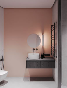 modernpinkbathroomaccents  homemydesign