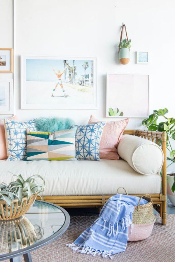 pretty-beach-living-room-with-pastel-colors | Home Design ...