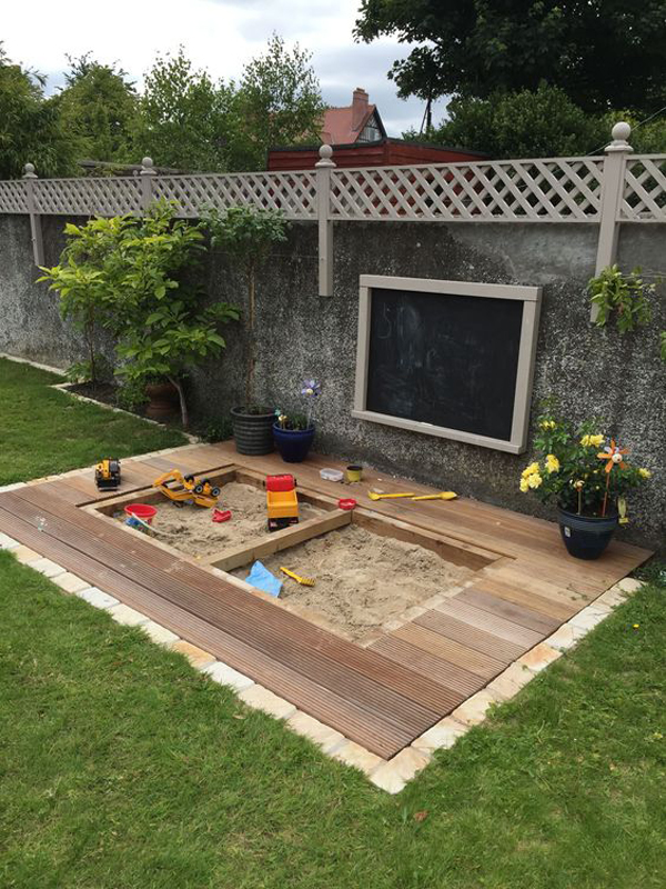 23 Awesome Kids Garden Ideas With Outdoor Play Areas ...