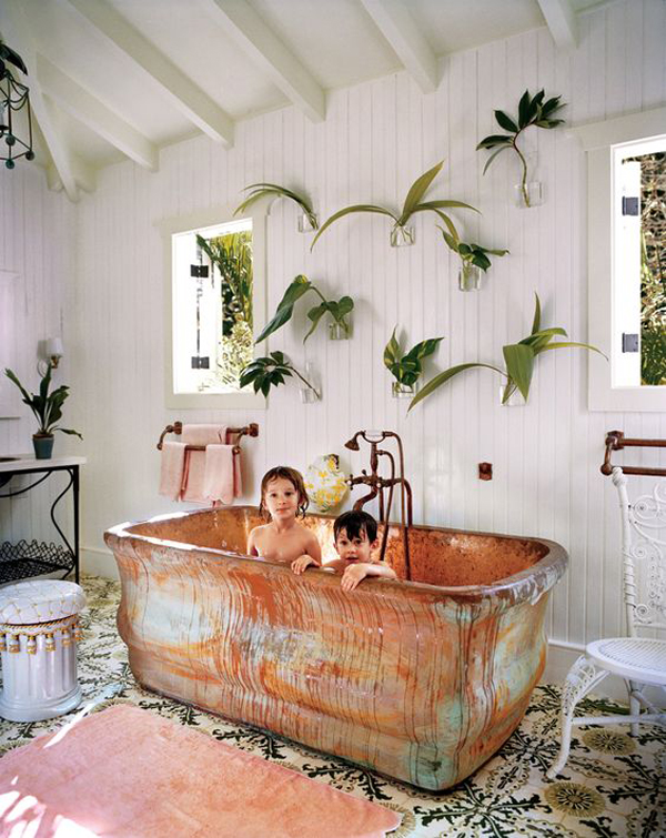 ... Dominated With Colorful And Crowded Themes, Then This Time I Will Try  To Inspire You With Something Different. Kids Bathrooms Usually Have A  Bathtub For ...