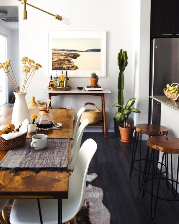 Cozy Dining Rooms: Super-cozy-dining-room-with-desert-vibes