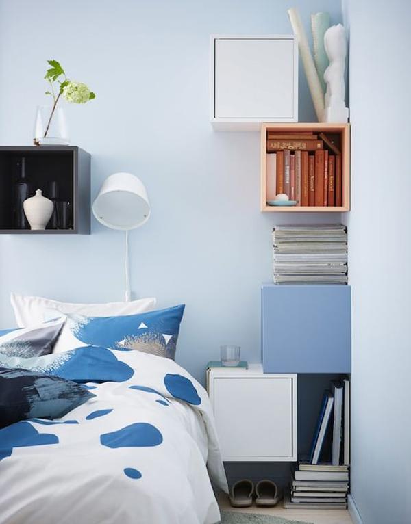 unique ikea eket hacks for bedroom storage - Ikea Bedroom Storage