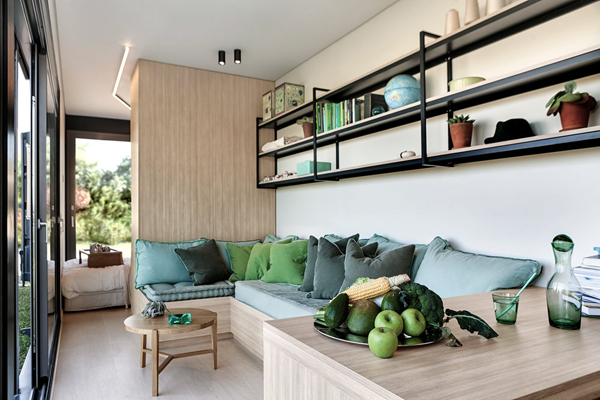Cozy Container House Living Interiors Inside Ideas Interiors design about Everything [magnanprojects.com]