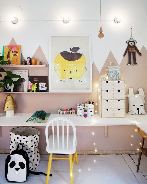 Toddler Study Room: 27 Modern Kids' Study Space Ideas You Need To Copy