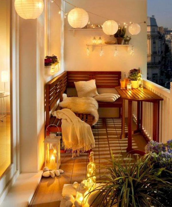 20 Most Cozy Balcony Ideas For Winter Season