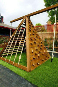 diyoutdoorpalletjunglegym  homemydesign