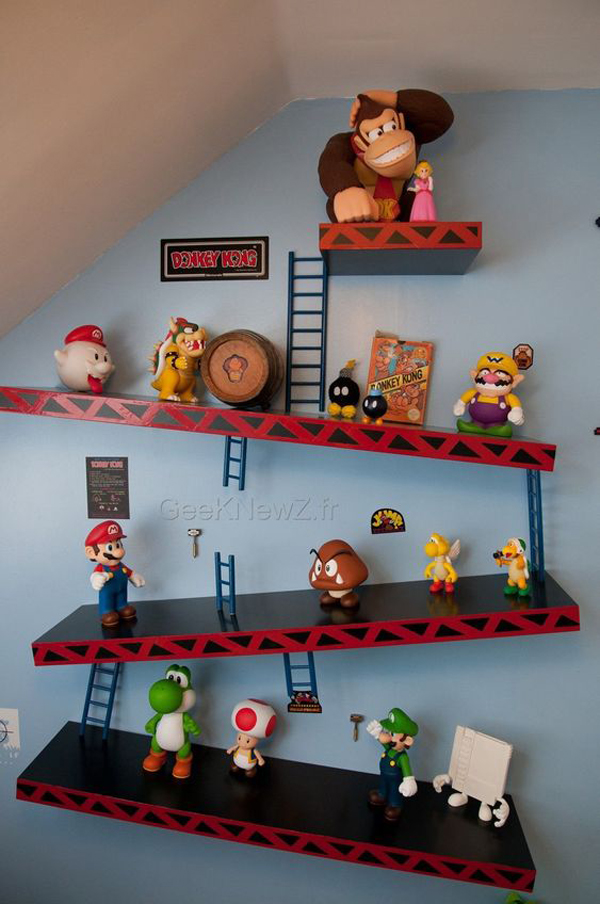 25 Most Adorable Room Ideas With Video Game Theme ...