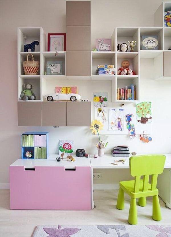 Ikea Kids Study E With Stuva Wall Storage Home Design