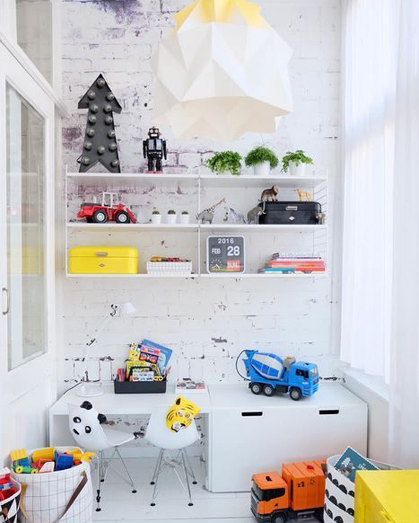 25 Kids Study Room Designs Decorating Ideas: 27 Modern Kids' Study Space Ideas You Need To Copy