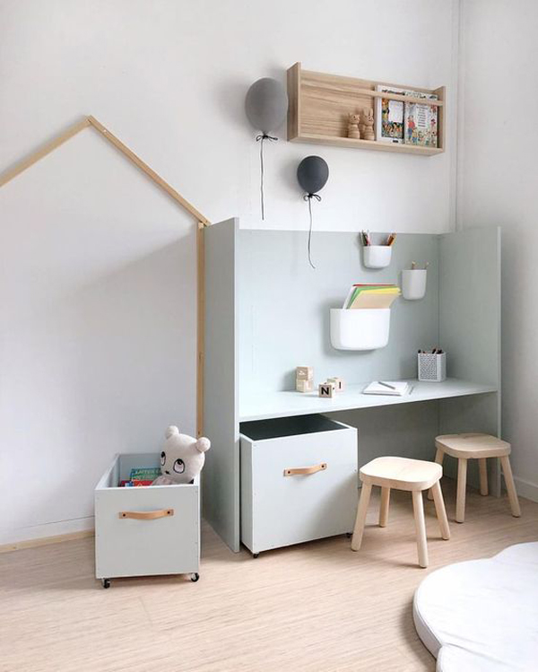 Cool Simple Study Room Decor: 27 Modern Kids' Study Space Ideas You Need To Copy
