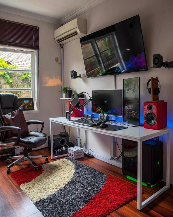 25 Coolest Gaming Rooms That Will Make Your Dreamy