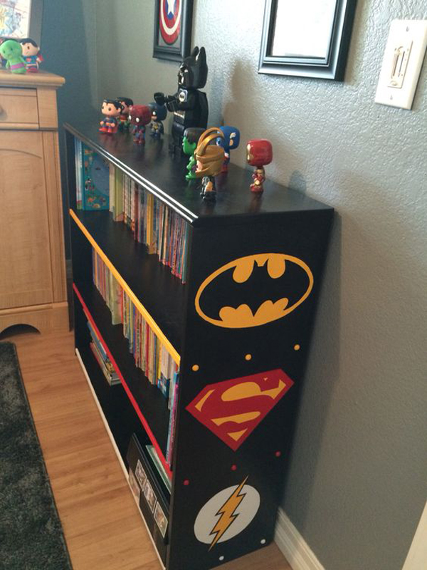 Superhero Bookshelf Furniture