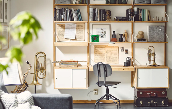 Ikea svalnas flexible and be creative shelf systems home design
