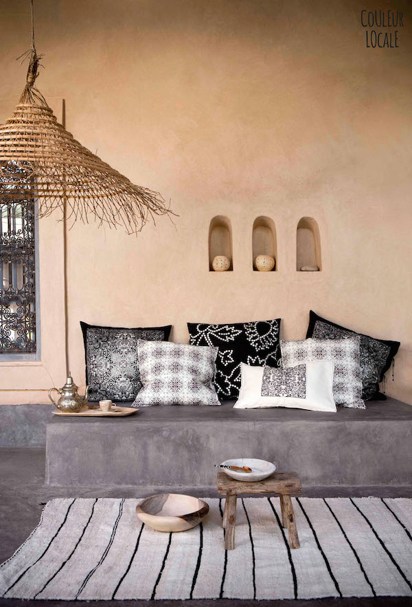 Unique Moroccan Home Collections By Couleur Locale Home Design And Simple Beautiful Interior Home Designs Collection
