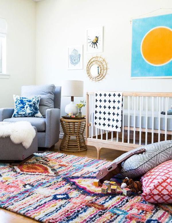 22 Cute Nursery Rug Ideas To Secure Your Babies Home