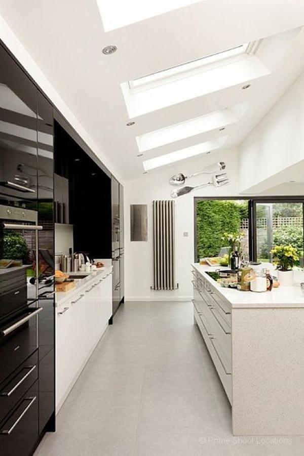Interior Kitchen Design With Tv Room: 25 Most Amazing Indoor Skylights To Improve Your Interiors