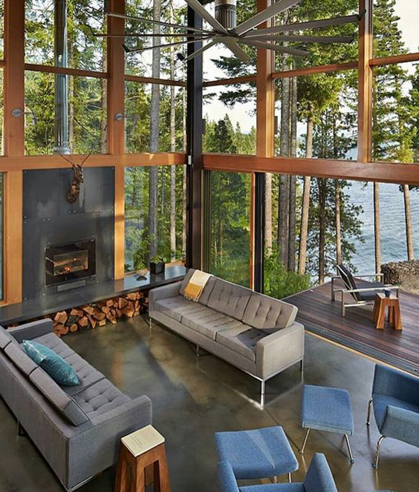25 Natural Living Rooms Integrated With Outdoor Spaces