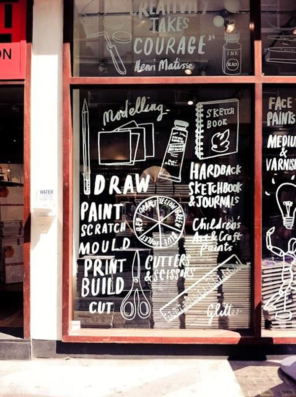 cool-store-window-sticker-display-ideas | Home Design And Interior