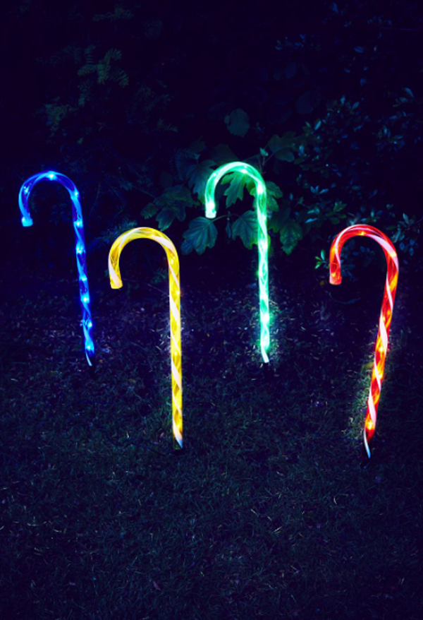 Led Candy Cane Outdoor Christmas Lights Home Design And Interior