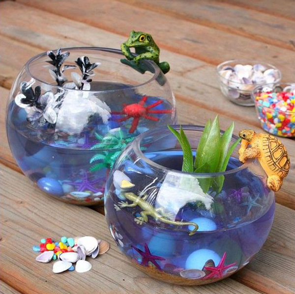 10 Creative Mini Aquarium Ideas For Kids