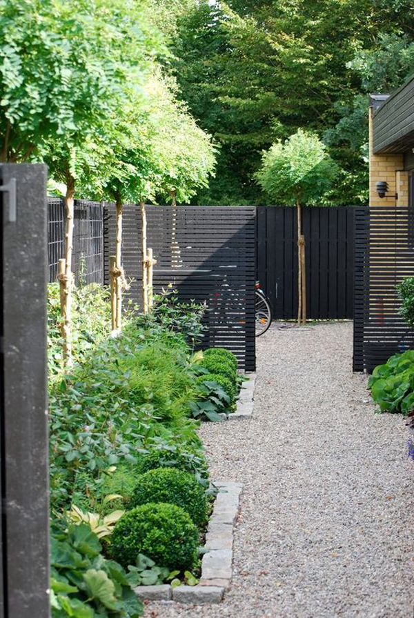 25 Unique Garden Fence Ideas With Plants To Your Privacy ...