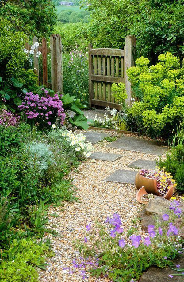 25 Most Wonderful Garden Gates With Nature Inspired ...
