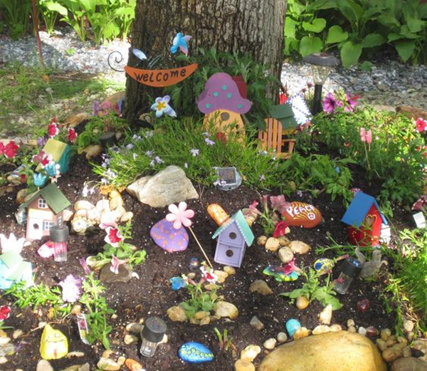 Magical Fairy Garden Designs: 30 Magical Ways To Create Fairy Gardens To Your Real Life