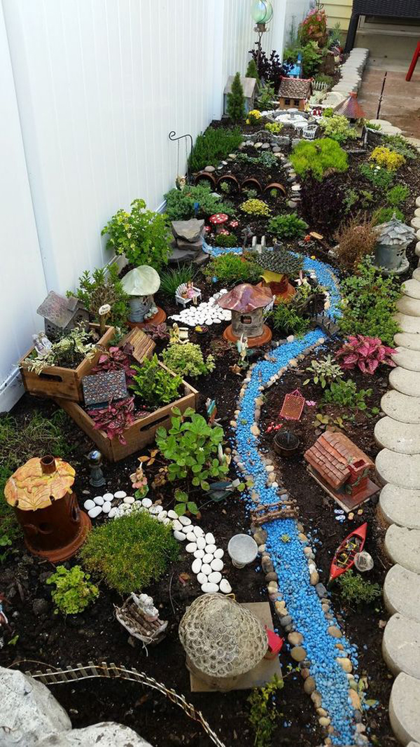 30 Magical Ways To Create Fairy Gardens To Your Real Life ... on Magical Backyard Ideas id=73246