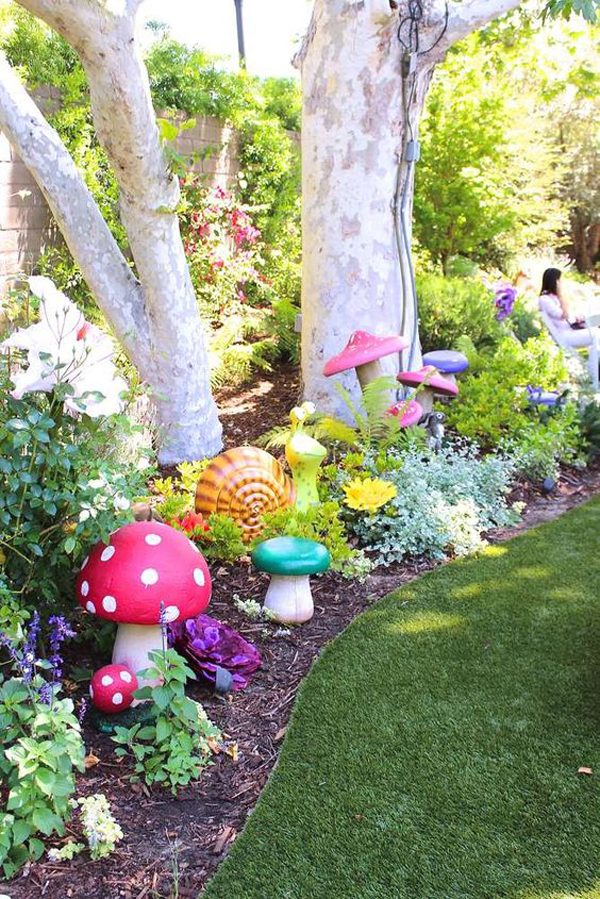 30 Magical Ways To Create Fairy Gardens To Your Real Life ... on Magical Backyard Ideas id=54781
